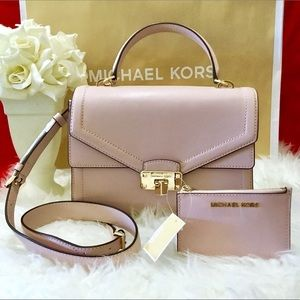 Michael Kors Kinsley Blossom Crossbody and Wallet